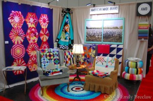 AMB booth Fall 2014 Quilt Market
