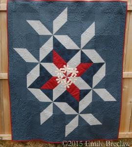 Hexadaisy quilt