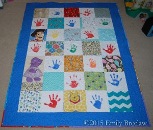 Kindergarten Quilt Finishes - The Caffeinated Quilter